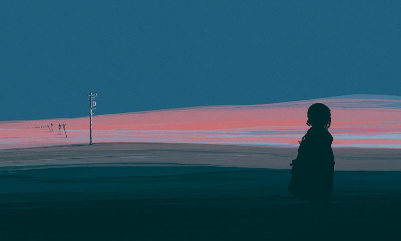 ночь пустыня