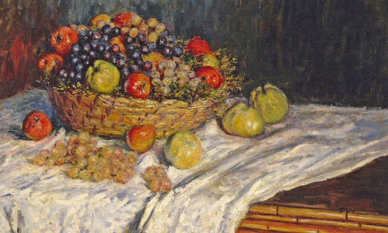 натюрморт фрукты