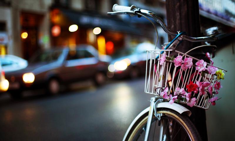 велосипед машина