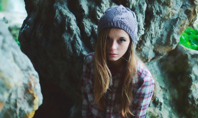 подросток шапка
