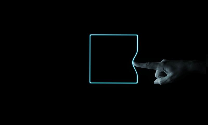 палец квадрат