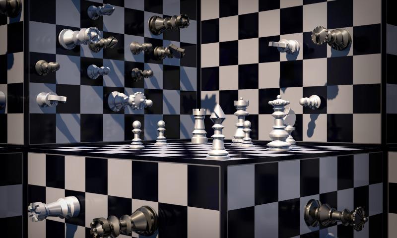 стены шахматы