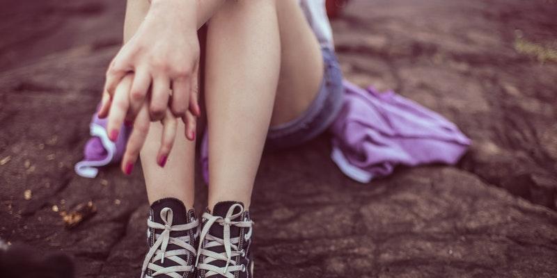 кеды ноги