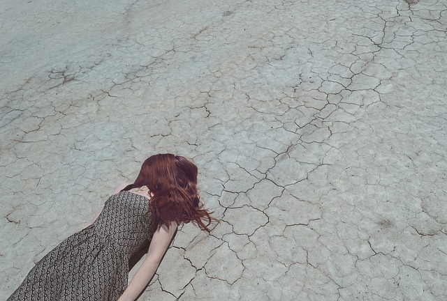 пустыня девушка