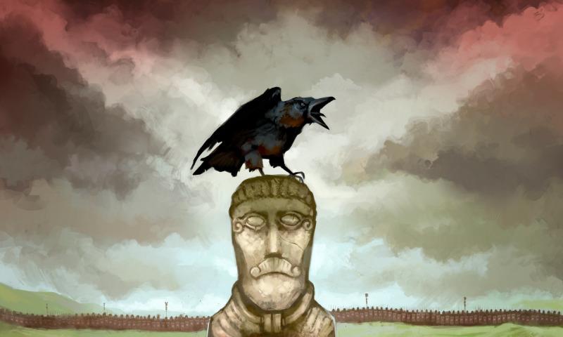 птица и идол