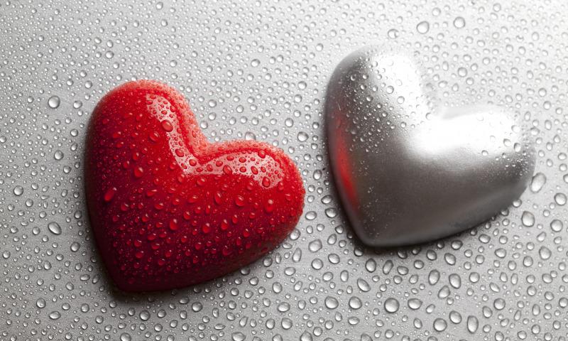 дождь и сердце