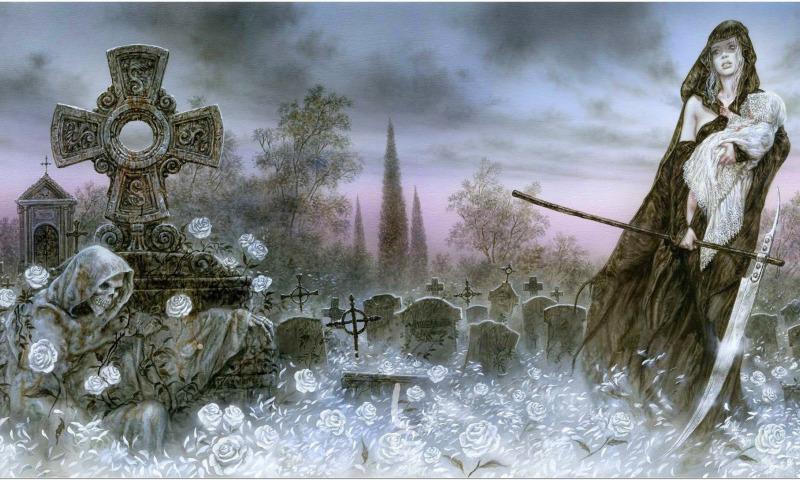 смерть кладбище