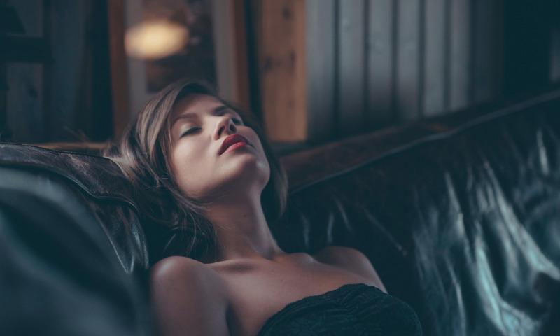 сон девушка