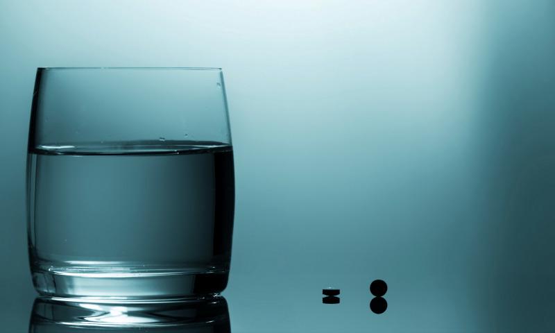 вода таблетки