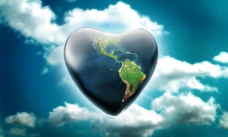 сердце небо